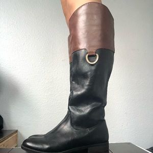 Brown and Black Mossimo Brand Boots
